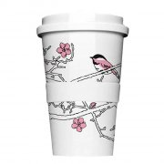 Porzellan Coffee to go Cherry