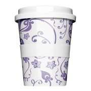 Porzellan Coffee to go Springflower Mauve
