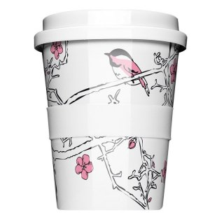 Porzellan Coffee to go Cherry blossom