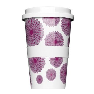 Porzellan Coffee to go Dahlia purple